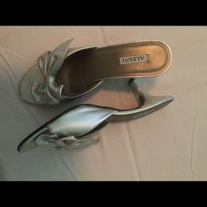 Alfani w/bow kitten heel slide 8